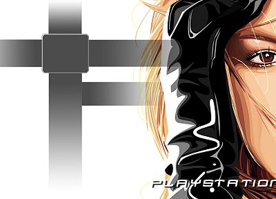 women, Britney Spears, cartoonish, Playstation 3 - related desktop wallpaper