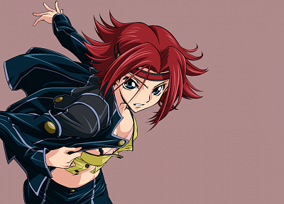 Code Geass, Stadtfeld Kallen - desktop wallpaper