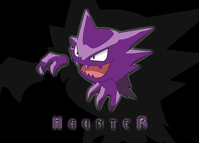 Pokemon, Haunter - related desktop wallpaper