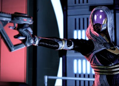 video games, Mass Effect 2, Tali Zorah nar Rayya - random desktop wallpaper
