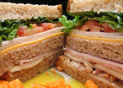 sandwiches, food, cheese, tomatoes - random desktop wallpaper