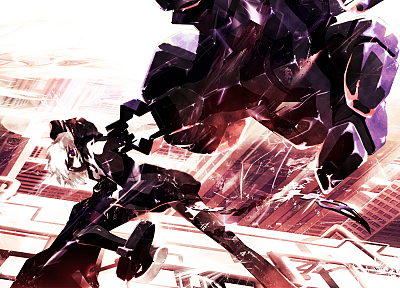 Black Rock Shooter, Yuu, Strength - random desktop wallpaper