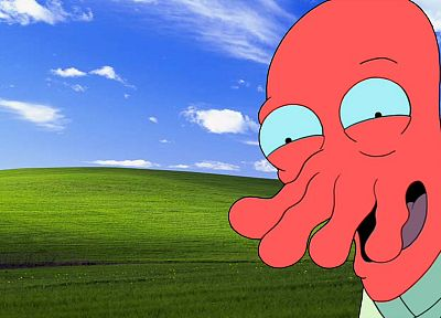 Futurama, Dr Zoidberg - random desktop wallpaper