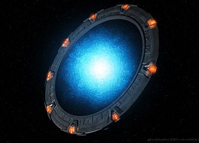 Stargate - random desktop wallpaper