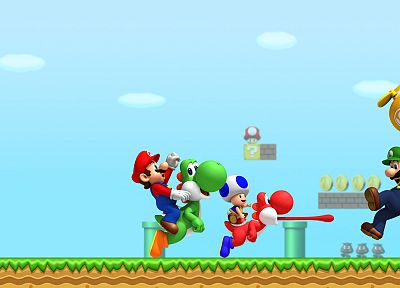 Mario - desktop wallpaper