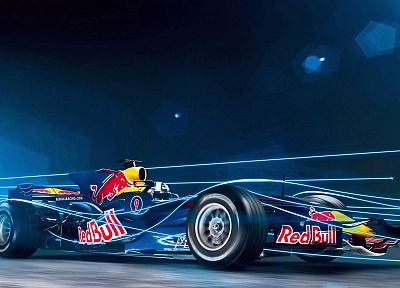 cars, Formula One, Red Bull, side view - related desktop wallpaper