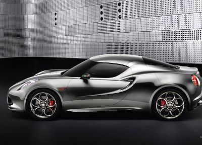 cars, Alfa Romeo, 4C - random desktop wallpaper