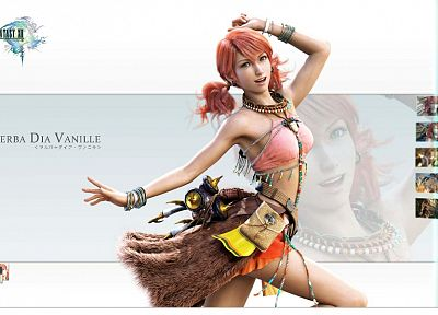 video games, Final Fantasy XIII, Oerba Dia Vanille - related desktop wallpaper