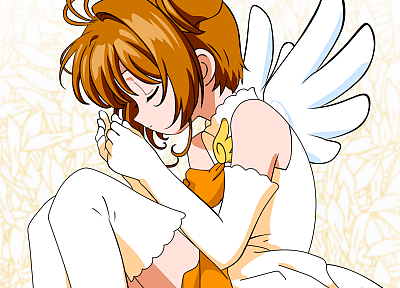 Cardcaptor Sakura, Kinomoto Sakura, bare shoulders - random desktop wallpaper