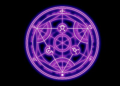 Fullmetal Alchemist, circles, Transmutation Circle - random desktop wallpaper