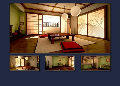 Japanese architecture - random desktop wallpaper