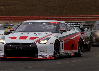 cars, racing, Nissan GT-R R35 - random desktop wallpaper