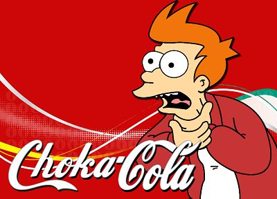Futurama, simple background, Philip J. Fry - desktop wallpaper