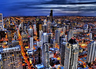 cityscapes, skylines, Chicago - related desktop wallpaper