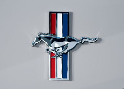 cars, vehicles, Ford Mustang, logos - related desktop wallpaper