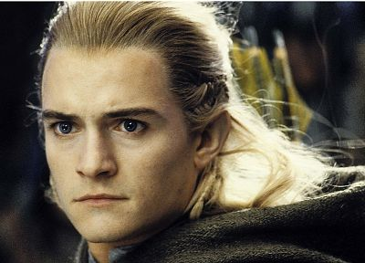The Lord of the Rings, Orlando Bloom, Legolas, The Return of the King - random desktop wallpaper