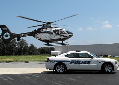 helicopters, cars, police, vehicles - related desktop wallpaper
