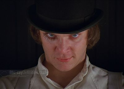 film, Clockwork Orange, Alexander Delarge - desktop wallpaper