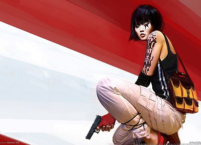 Mirrors Edge, Faith Connors - random desktop wallpaper