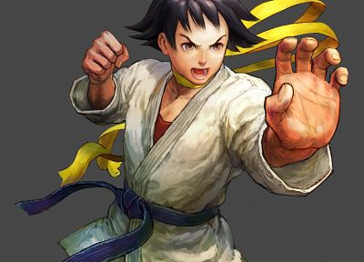 Street Fighter, Street Fighter IV, Super Street Fighter Iv, artwork, Makoto - random desktop wallpaper