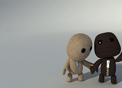 Sackboy - random desktop wallpaper