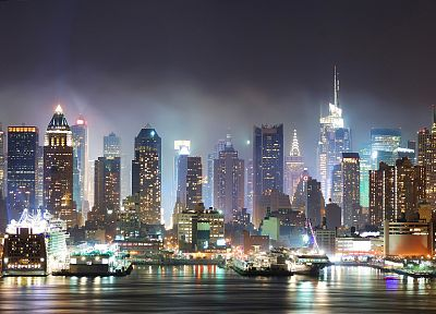 cityscapes, night, buildings, cities - desktop wallpaper