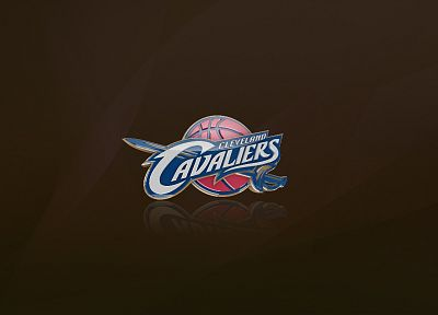 sports, NBA, basketball, logos, Cleveland Cavaliers - desktop wallpaper