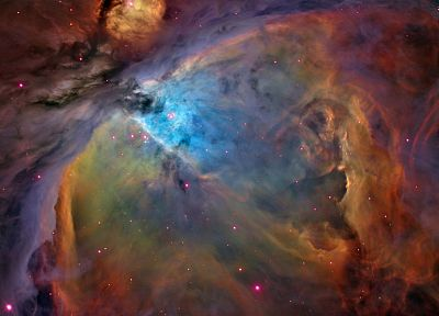 outer space, nebulae, Orion, orion nebula - random desktop wallpaper