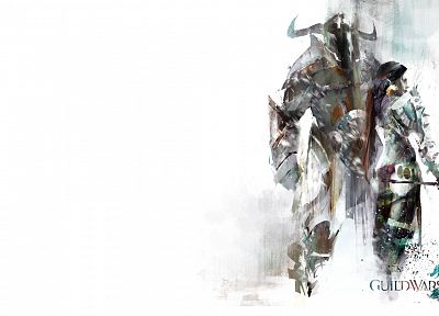 artwork, Guild Wars 2, simple background - random desktop wallpaper