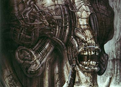 HR Giger - random desktop wallpaper