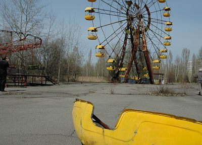 Pripyat, Chernobyl, ferris wheels - random desktop wallpaper
