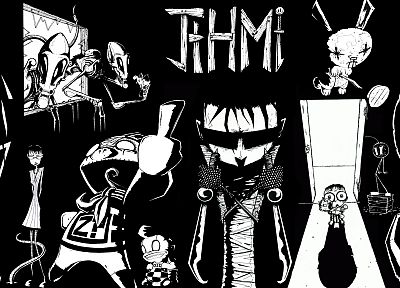 Johnny the homicidal maniac - random desktop wallpaper