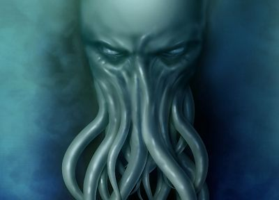 Cthulhu, HP Lovecraft - random desktop wallpaper