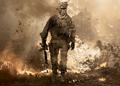 video games, Call of Duty, Call of Duty: Modern Warfare 2, games - related desktop wallpaper