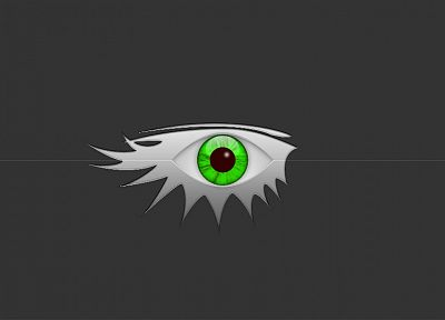 eyes, minimalistic, Clockwork Orange - random desktop wallpaper