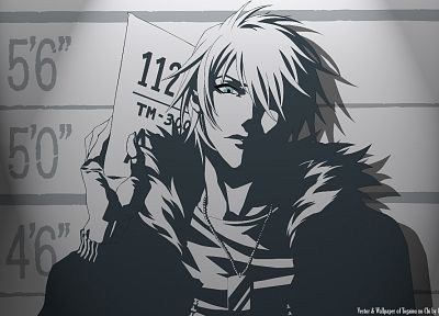 Togainu no Chi, criminal, monochrome - random desktop wallpaper