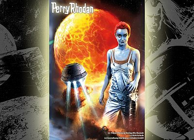 outer space, Perry Rhodan, science fiction - related desktop wallpaper