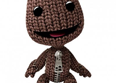 Little Big Planet, Sackboy, Playstation 3 - desktop wallpaper