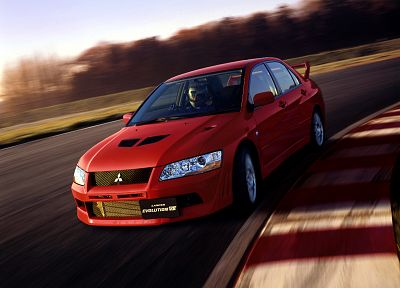 cars, Mitsubishi, lancer, evolution - desktop wallpaper