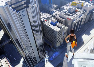 video games, Mirrors Edge, urban, Faith Connors - random desktop wallpaper