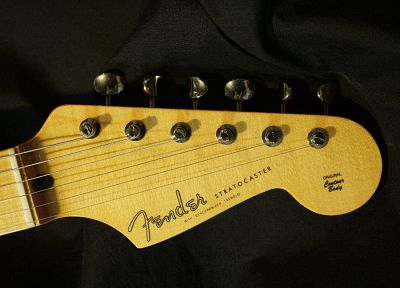 Fender, guitars, Fender Stratocaster - random desktop wallpaper