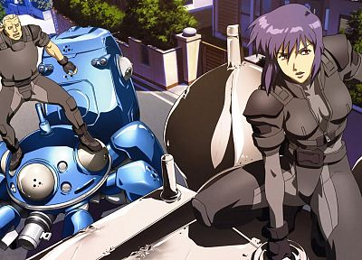 Kusanagi Motoko, Ghost in the Shell - random desktop wallpaper