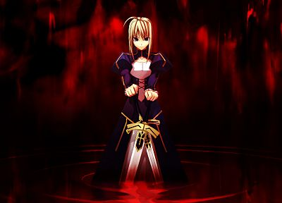 Fate/Stay Night, Type-Moon, Saber, Fate series - random desktop wallpaper