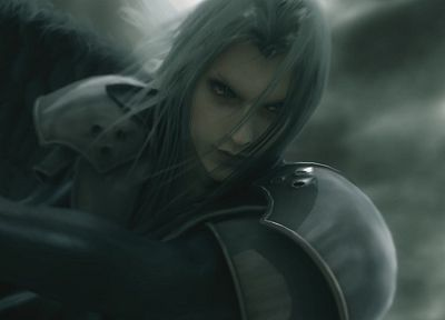 Final Fantasy VII Advent Children, Sephiroth - random desktop wallpaper