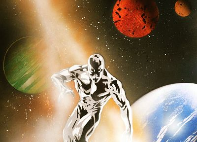 Silver Surfer, Marvel Comics - random desktop wallpaper