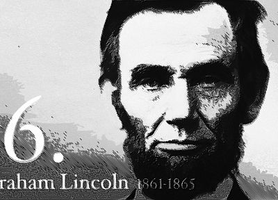 Abraham Lincoln, presidents - random desktop wallpaper