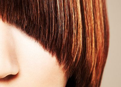 brunettes, women, close-up, redheads, faces - related desktop wallpaper