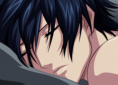 sleeping, faces, utapri - desktop wallpaper
