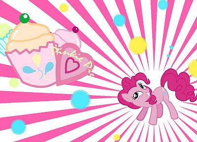 My Little Pony, Pinkie Pie - random desktop wallpaper