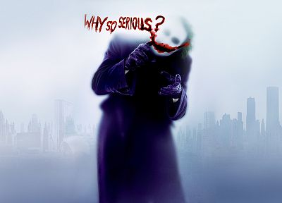 Batman, The Joker, Why So Serious? - random desktop wallpaper